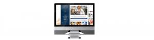 Albert Arms Website on iMac