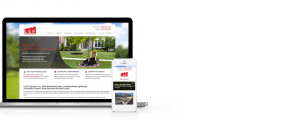 L and P Groundworks Website - Responsive Websdesign