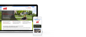L and P Groundworks Website - Responsive Web Design