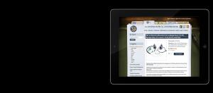 Burlen Fuels LTD Website on iPad
