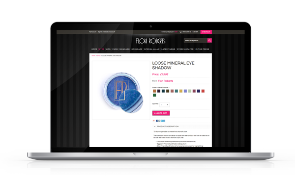 Flori Roberts eCommerce Project