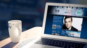 Help For Heroes - Heroes Concert - Web Design