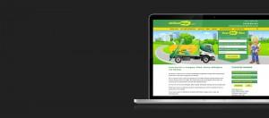 Chilton Skips Website on Laptop