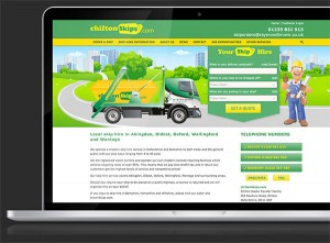 Raymond Brown - Chilton Skips Website Design