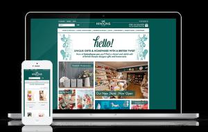 Hintons Home eCommerce Website Responsive Design