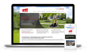 L and P Groundwork Website Responsive Web Design