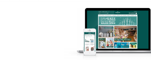 Hintons Home eCommerce Website - Responsive Web Design