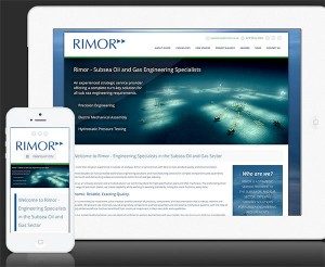 Rimor Engineering Website Design