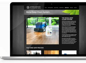 Salisbury Hardwood Flooring Website Design